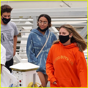 Kenzie Ziegler Has Boat Day With Sage Rosen, Charlize Glass & More!