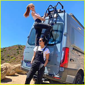 See Pics From Madelaine Petsch's Surprise Birthday Road Trip With Camila Mendes