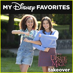Upside-Down Magic's Izabela Rose & Siena Agudong Curate 'My Disney Favorites' Playlist (Exclusive)