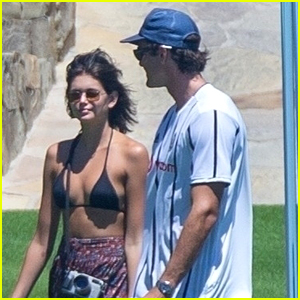 Jacob Elordi Grabs A Little Lunch With Kaia Gerber in Cabo San Lucas