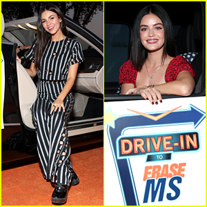 Victoria Justice, Lucy Hale, & More Support an Important Cause at Drive-In Event