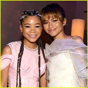 Storm Reid & More 'Euphoria' Stars React to Zendaya's Emmy Awards 2020 Win