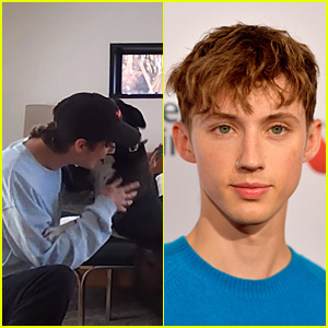 Troye Sivan Reunites With His Dog After 7 Months Apart - Watch Now!