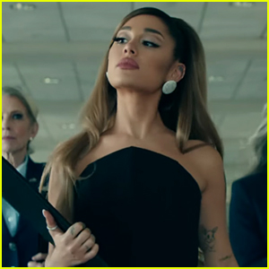 Ariana Grande Becomes President & Gives Us Amazing Fashion in 'Positions' Video!