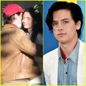 Cole Sprouse Hugs Model Reina Silva While Out in Vancouver!