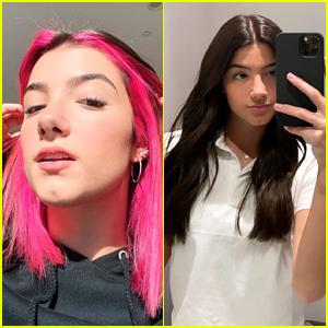 Charli D'Amelio Ditches Short Pink Hair For Longer Locks!