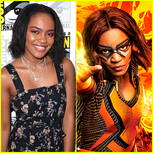 China McClain Found Out About 'Black Lightning' At Same Time As Everyone Else