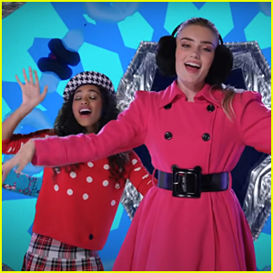 Meg Donnelly & More Disney Channel Stars 'Put the Happy in the Holidays' In New Music Video!