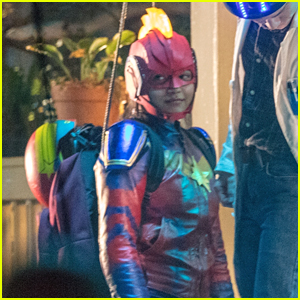 Iman Vellani Suits Up as She Continues Filming For 'Ms Marvel'