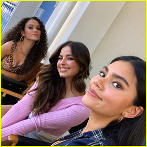 Myra Molloy Shares New Photos From 'He's All That' Set With Addison Rae & Madison Pettis
