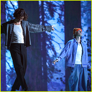 Shawn Mendes & Justin Bieber Perform New Song 'Monster' at American Music Awards 2020