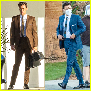 Harry Styles Looks Dapper In 2 Suits On 'Don't Worry Darling' Set in Palm Springs!