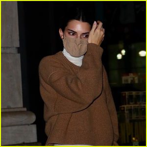 Kendall Jenner Masks Up for Night Out with Friends in NYC