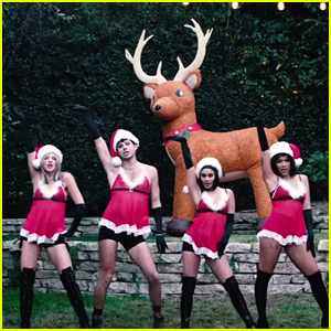 Vanessa Hudgens, Alexandra Shipp & More Do 'Mean Girls' 'Jingle Bell Rock' Dance