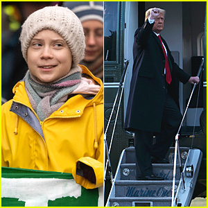 Greta Thunberg Goes Viral For Comment on Trump Leaving White House For the Last Time