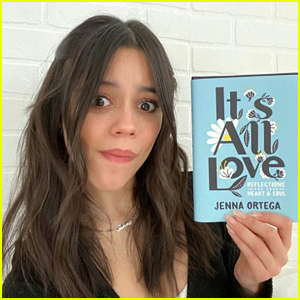 Jenna Ortega Releases First Book 'It's All Love'!