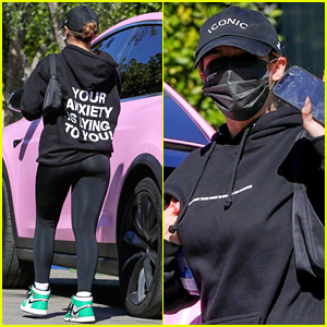 Addison Rae Sends a Message About Anxiety With Her Hoodie