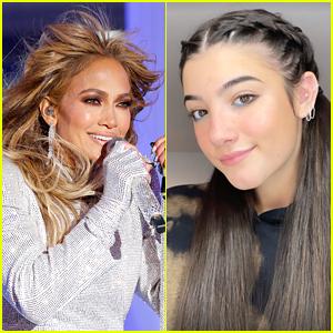 Jennifer Lopez Praises Charli D'Amelio for Time 100 Next!