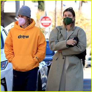 Justin Bieber Braves the Windy L.A. Weather for Breakfast Date with Hailey