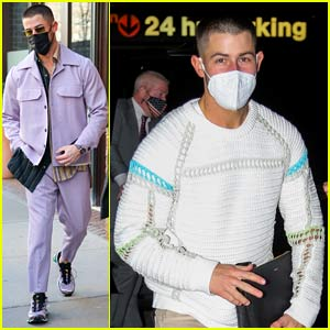 Nick Jonas Keeps Rocking Cool Outfits in NYC, Plus Watch His 'SNL' Promo
