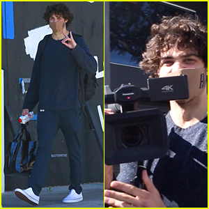 Noah Centineo Turns The Camera On Paparazzi After a Workout