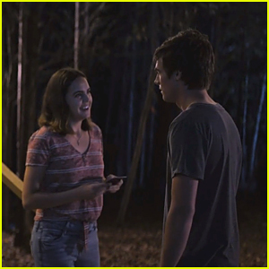 Bailee Madison Gives Kevin Quinn a Special Gift In This Exclusive 'A Week Away' Clip