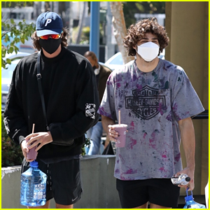 Noah Centineo Hits the Gym with Jacob Elordi!