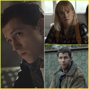 Tom Holland, Nick Jonas & Daisy Ridley Star In New 'Chaos Walking' Clips!