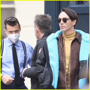 Harry Styles & David Dawson Spotted On Set Together for 'My Policeman'