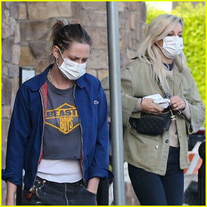 Kristen Stewart Goes on a Grocery Run with Girlfriend Dylan Meyer