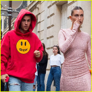 Hailey & Justin Bieber Step Out Together After a Busy Day in Paris