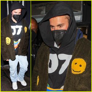 Justin Bieber Heads Home After a Night Out in West Hollywood