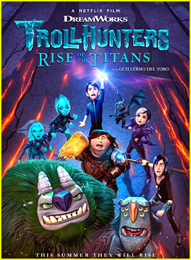 Netflix Debuts 'Trollhunters: Rise of the Titans' Trailer - Watch Here!