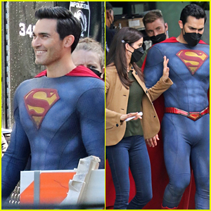 'Superman & Lois' Stars Get To Work on Season 1 Finale In New Set Photos!