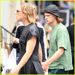 Tommy Dorfman & Lucas Hedges Spotted Holding Hands While Walking Around NYC