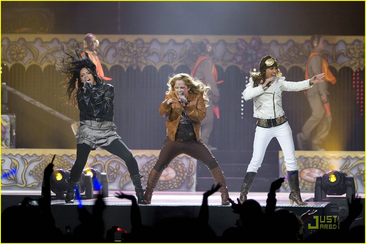 cheetah girls chicago concert 08
