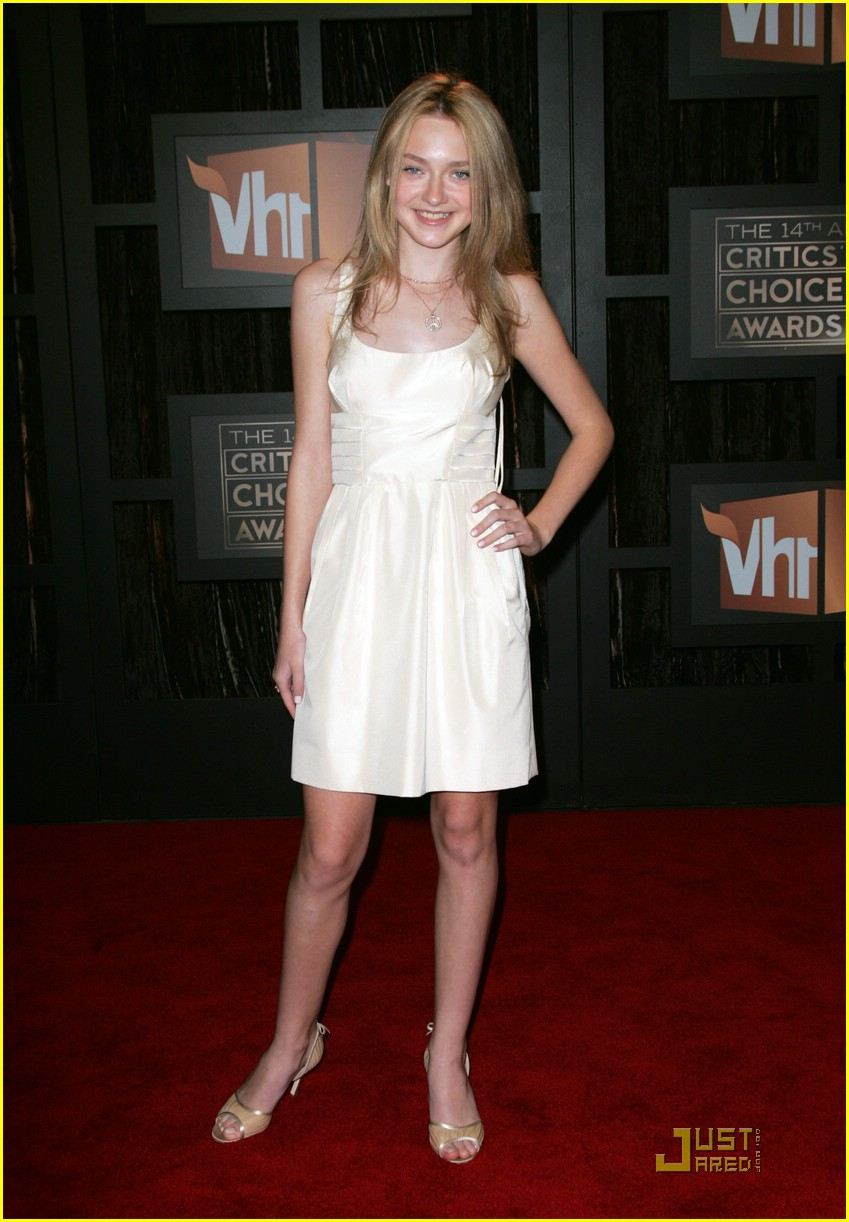 dakota fanning critics choice 08