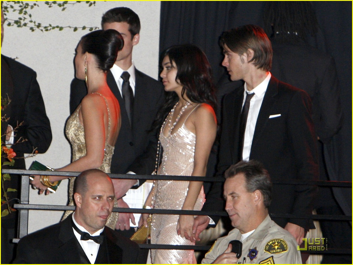 vanessa hudgens zac efron instyle party 02