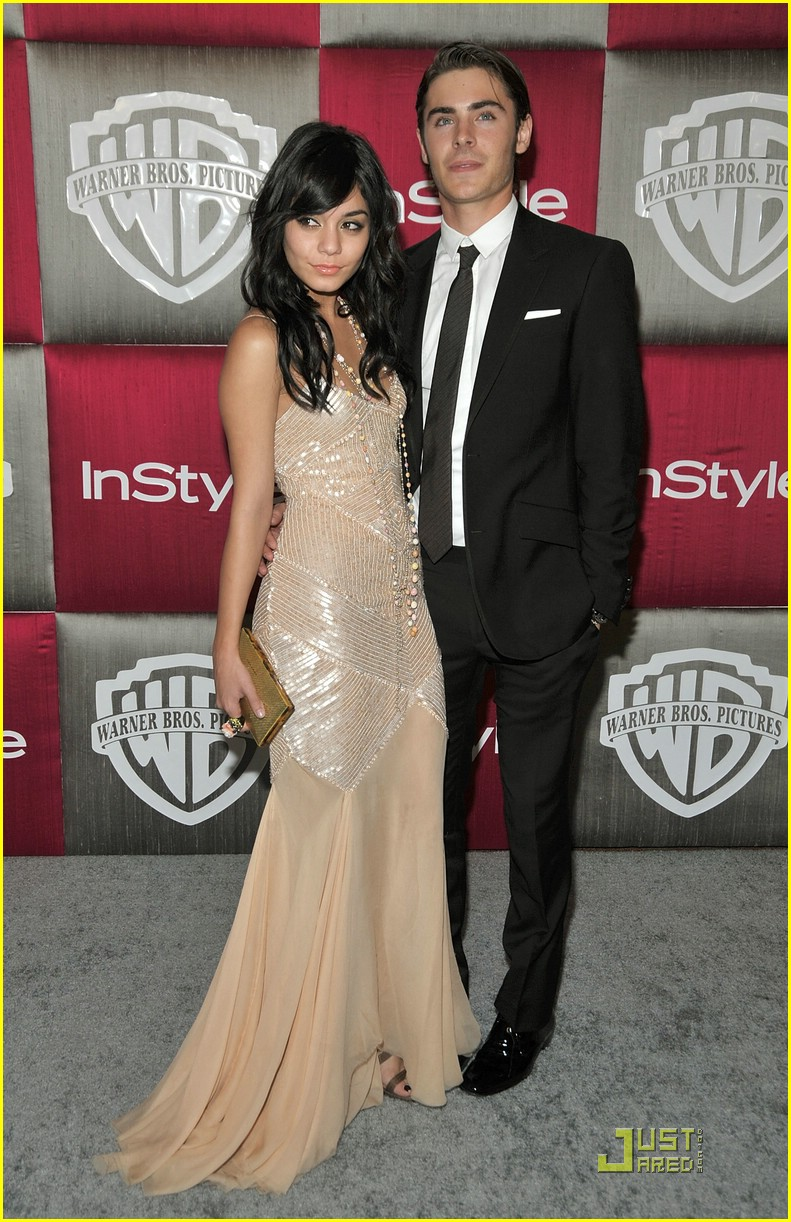 vanessa hudgens zac efron instyle party 06