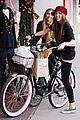 Miley-biking miley cyrus brandi bikes 13