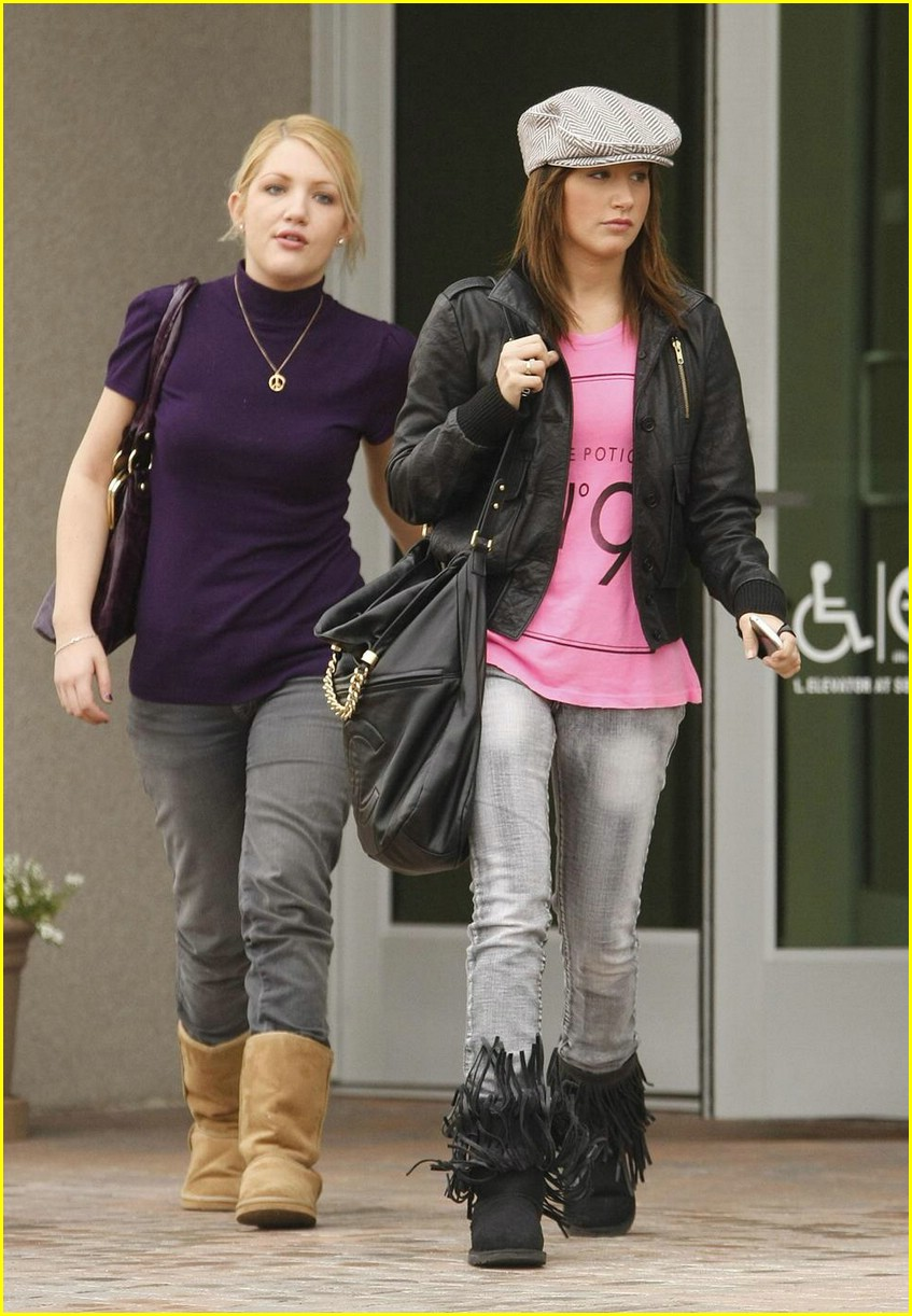 ashley tisdale shelley buckner shopping 03