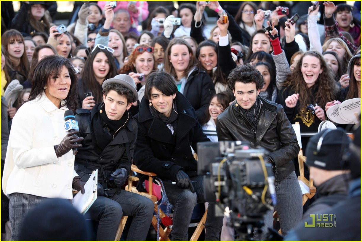 jonas brothers early show 07