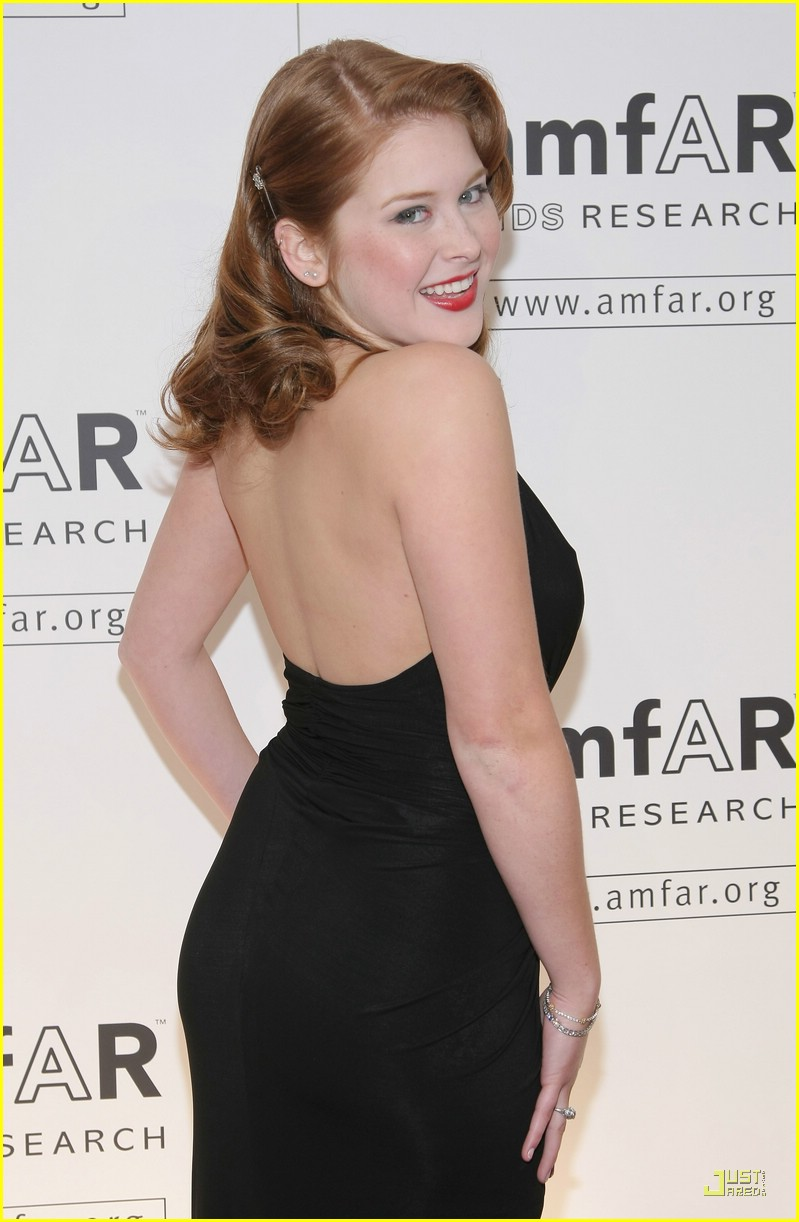 renee olstead amfar event 02