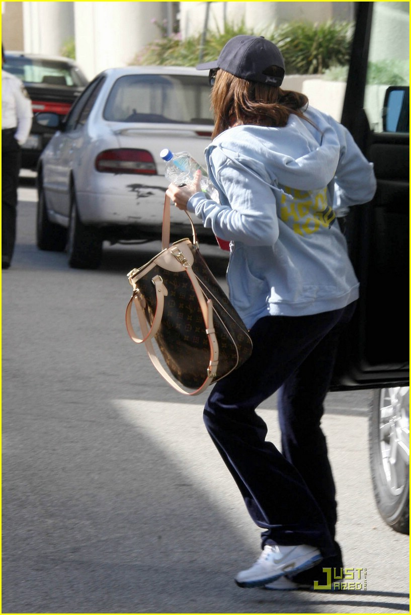ashley tisdale studio city gym 12