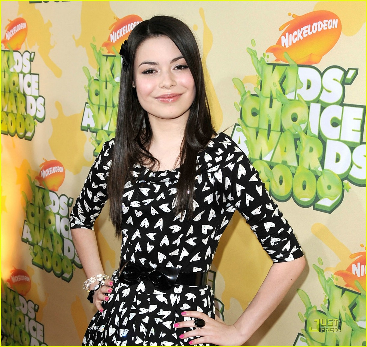 miranda cosgrove 2009 kids choice awards 02
