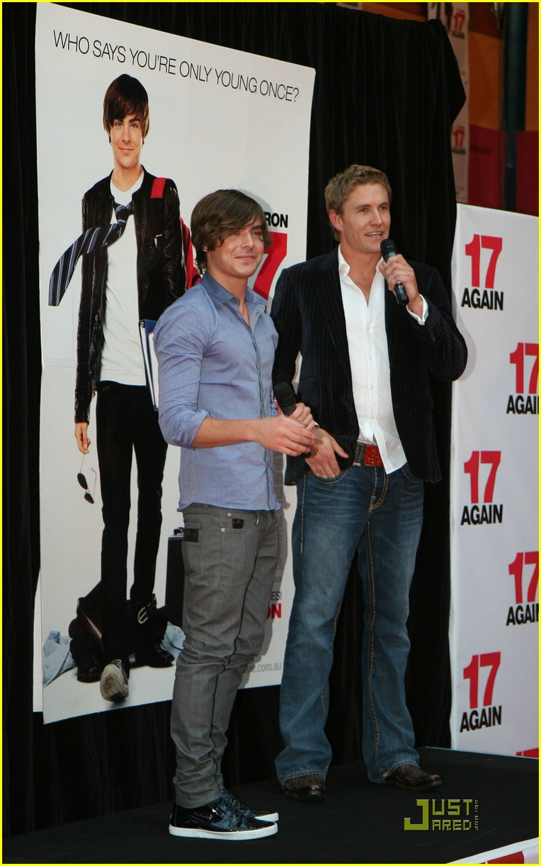 zac efron 17 again melbourne 07