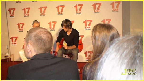 zac efron 17 again press 13