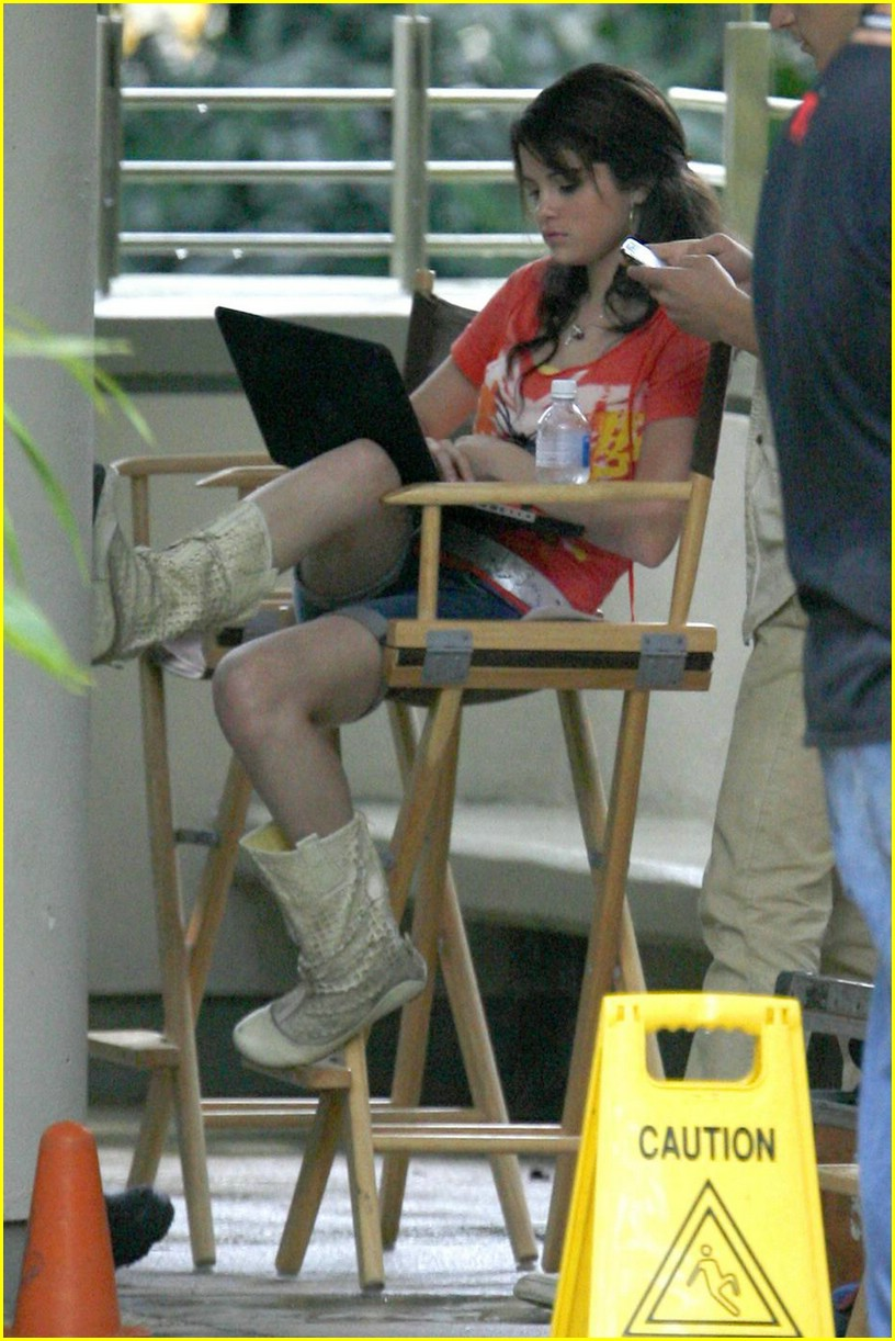 selena gomez david henrie wizards set 02