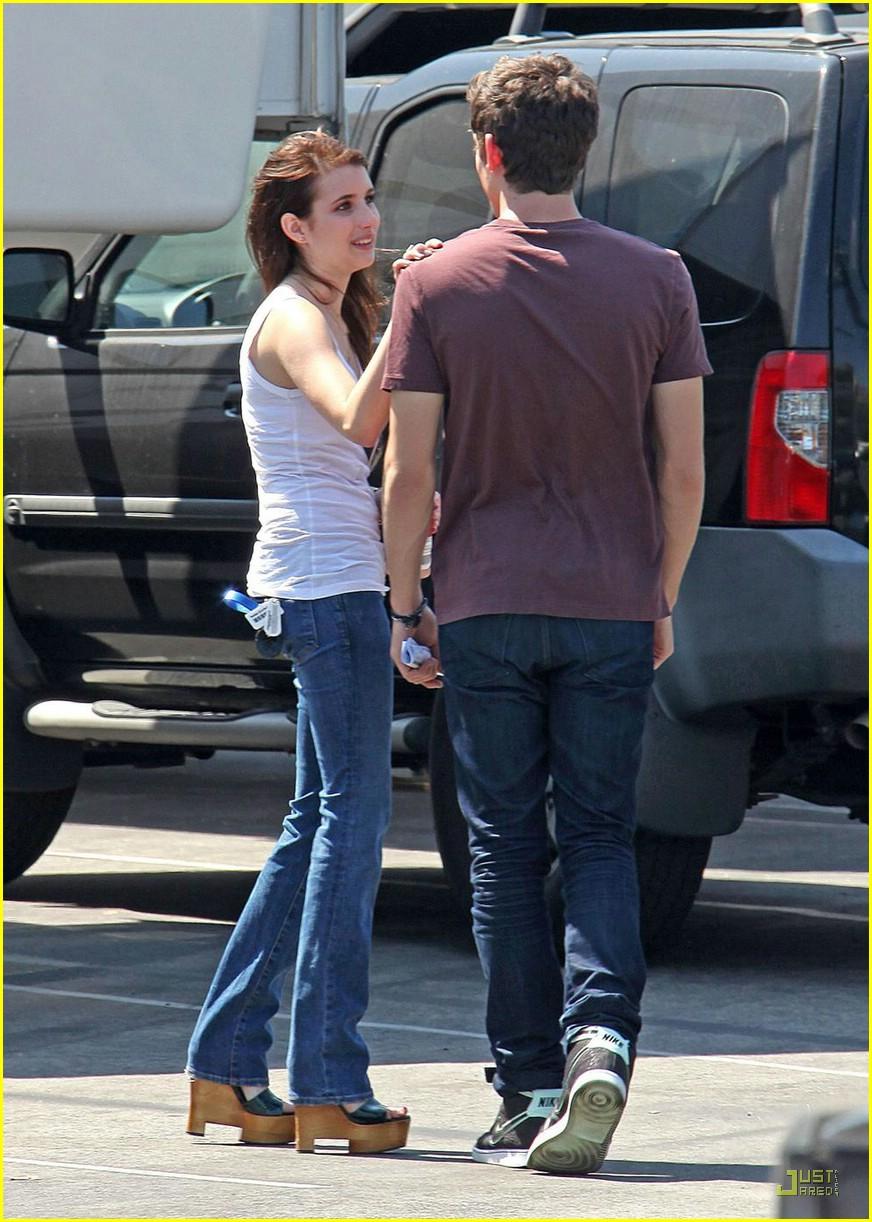 Emma Roberts & Carter Jenkins: Unfabulous Reunion | Photo ...