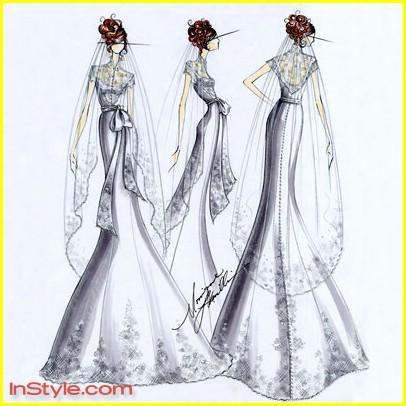 Fashion designers sketch bella swans wedding dress photo 264911 bella swan wedding dress 05 junglespirit Gallery